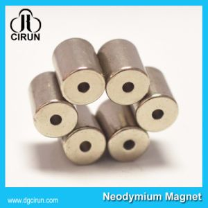 Custom Ring Cylinder Strong Permanent NdFeB Neodymium Magnet