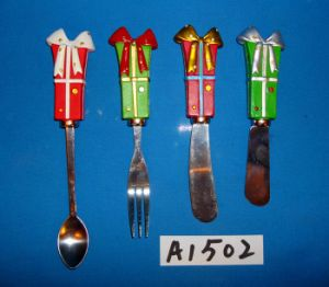 Christmas Decoration Spreader with Resin Handle pictures & photos