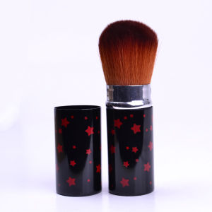 Fashion High Quality OEM/ODM Professional Retractable Powder/Blush/Face/Eyebrow Cosmetic Makeup Brush pictures & photos