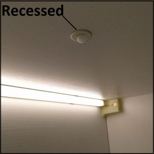 Moving Sensor Switch for Recessed Installation