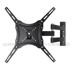 LCD Flat Screen Panel TV Bracket Retractable Rack Angle Adjustable Wall Mount pictures & photos
