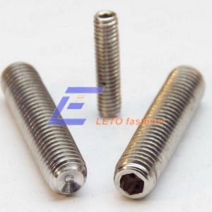 DIN916-Hexagon Socket Set Screws with Cup Point