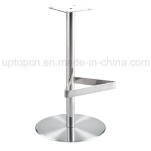 Durable Stainless Steel High Bar Chair Base with Foot Rest (SP-STL311) pictures & photos