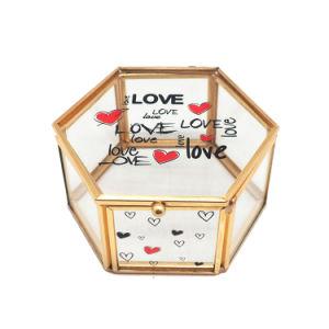 China Custom Glass Jewelry Box Making Supplies Jb1070 China