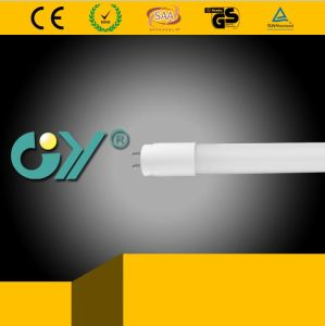 0.9PF G13 6400k 10W 800lm LED T8 Tube (GS/TUV/CE)