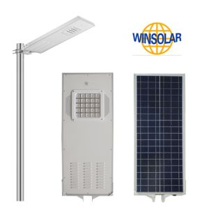 30W All-in-One Solar Street Light with Remote Control