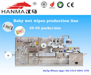 5-30 PCS/Pack Full Auto Wet Wipes Production Line with Packaging Machinery