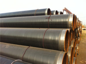 PE Coated Anti Corrosion Underground Sewerage Spiral Steel Pipe pictures & photos