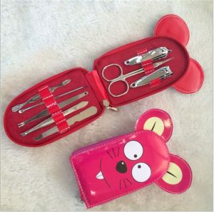 Nail Set Nail Clippers Finger Toe Care Manicure Kit Lovely Lady Nail Art Tool Setcuticle Nippers pictures & photos