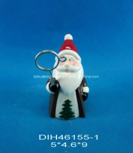 Hand-Painted Ceramic Santa Business Card Holder pictures & photos