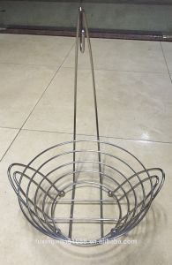 Fruit Hanger Bowl Banana Grape Metal Chrome Wire Kitchen Basket pictures & photos