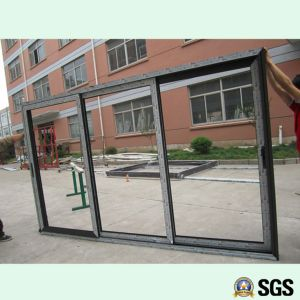 3 Track Aluminium Frame Sliding Door, Window, Aluminium Window, Aluminum Window, Glass Door K01017
