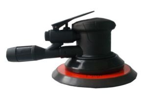 6 Inch Professional Orbital Air Sander (Central Vacuum, Self Vacuum, Non-Vacuum)