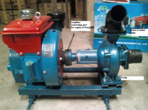 Centrifugal Water Pump Set pictures & photos