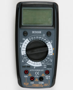Newest 3 1/2 Digital Multimeter with Magnet (HC9308)