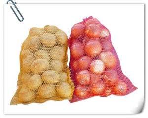 PP Leno Bags for Agriculture PE Raschel Vegetable Mesh Bags for Potato and Onion pictures & photos