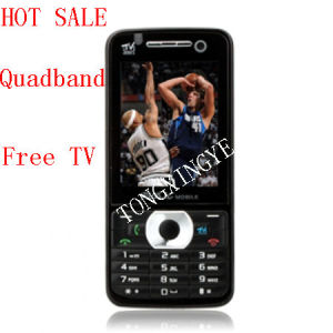 Quadband Free TV Java Touch Screen Cell Phone, Changhe A8