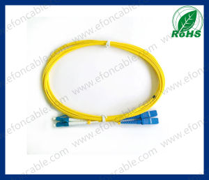 Fiber Optic Patch Cord LC-Sc Single Mold pictures & photos