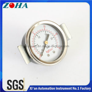 1.5 Inch Panel Mount Pressure Gauge with U Clamp pictures & photos