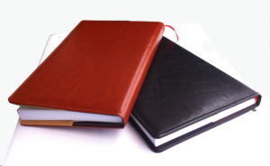 High Quality Hard Cover Leather Notebook (YY-N0200) pictures & photos