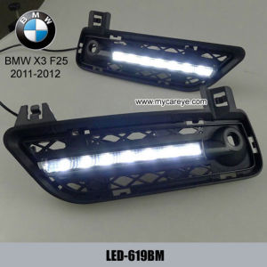 F25 DRL LED Daytime Running Lights Kits Carbody Parts Retrofit for BMW X3