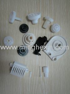 White and Black ABS Plastic Gear with SGS ISO