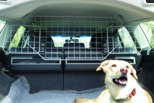 China Heavy Duty Durable Universal Deluxe Pet Dog Guard Car Cage