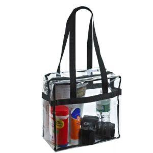 Women Clear Tote Bag Bags PVC Transparent Handbag Shoulder Beach Trendy