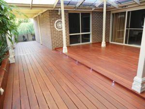 Outdoor Hardwood Decking Timber