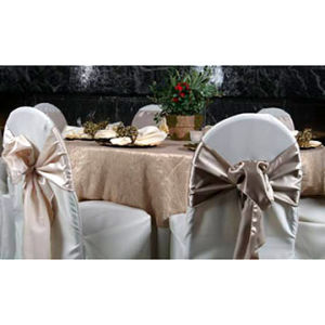 Chair Cover, Sash & Tie
