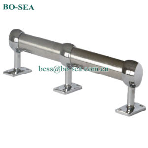 High Quality 304 Stainless Steel Boat Storm Rail Centra And Ends Bracket