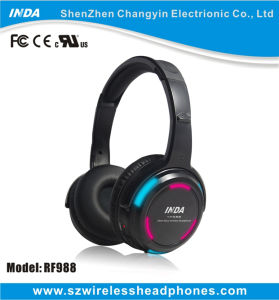 RF988 Wireless Disco Headphone for Silent Event and Party (RF988)