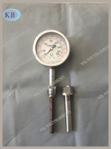 All Stainless Steel Dial Thermometer for Ship′s Engine Use 50+650c pictures & photos