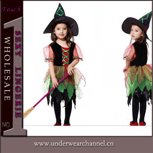 Party Costume Girls Classic Witch Child Costume (TCQ005) pictures & photos