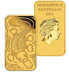 The Queen Gold Bar