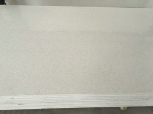 Galaxy White Popular Color Quartz Solid Surface for Bathroom