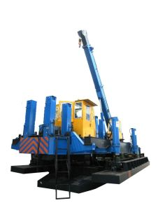 600t Piling Machine (ZYC 600B-B) for Precast Concrete Pile Work in Phillipine