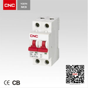 Miniature Circuit Breaker (YCB7H-2P) pictures & photos