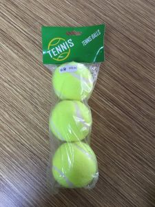 3PCS Plastic Bag Packing Yellow Tennis Traing Ball