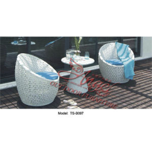 Patio Leisure Outdoor Rattan Garden Furniture Table Chair Set