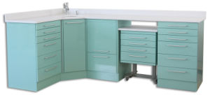 DC-09 Hot Selling Dental Cabinets for Sale with CE pictures & photos