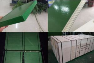 Hot Construction Use Plastic Film Faced Plywood pictures & photos