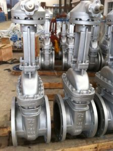 High Pressure 300lbs-1500lbs Alloy Steel Flanged Gate Valves