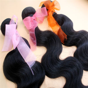 Body Wave Natural Color 9A Brazilian Virgin Human Hair Extension pictures & photos