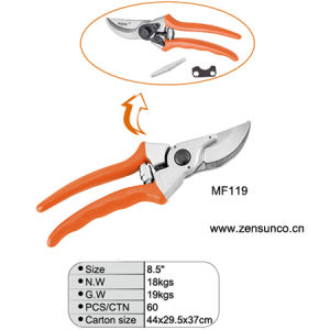 "8.5"" Aluminum Alloy Garden Trimming Scissors pictures & photos"