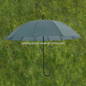 23-Inch 12 Ribs Auto Open Straight Umbrella by New Style (YSS0073-1-1)
