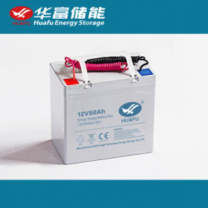 Huafu 12V 50ah UPS Gel Solar UPS Battery