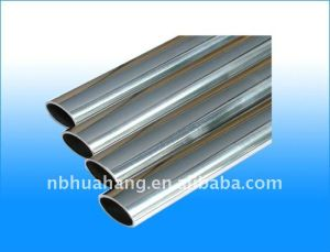 Stainless Steel Half Oval Welded Pipe