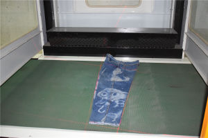 Laser Printing Machine in Jean Washing pictures & photos