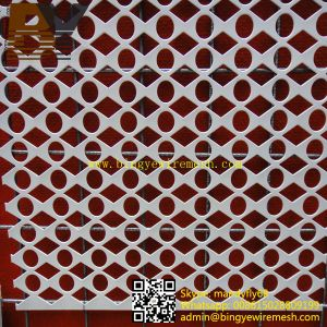 Perforated Metal Panel Fireproof Ceiling Tile
